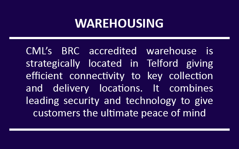 CML Warehousing Service
